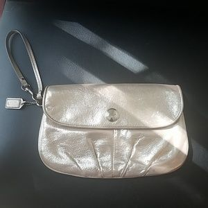 Coach wristlet/clutch bag